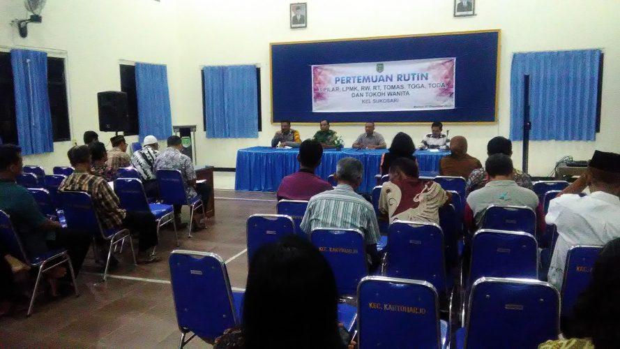 Pertemuan Rutin Kelurahan Sukosari Bulan Desember