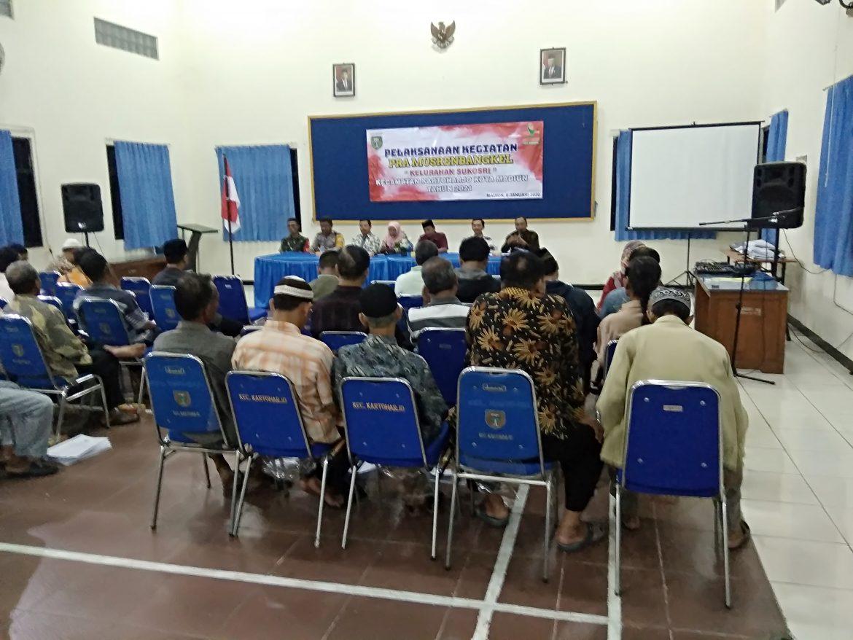 Pramusrembang & Pisah Kenal Pegawai Kelurahan Sukosari